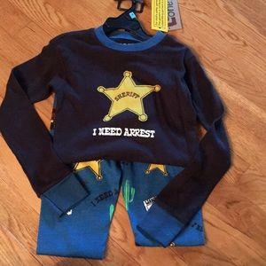 Lazy One Pajamas - NWT lazy one sherif pajamas size 6